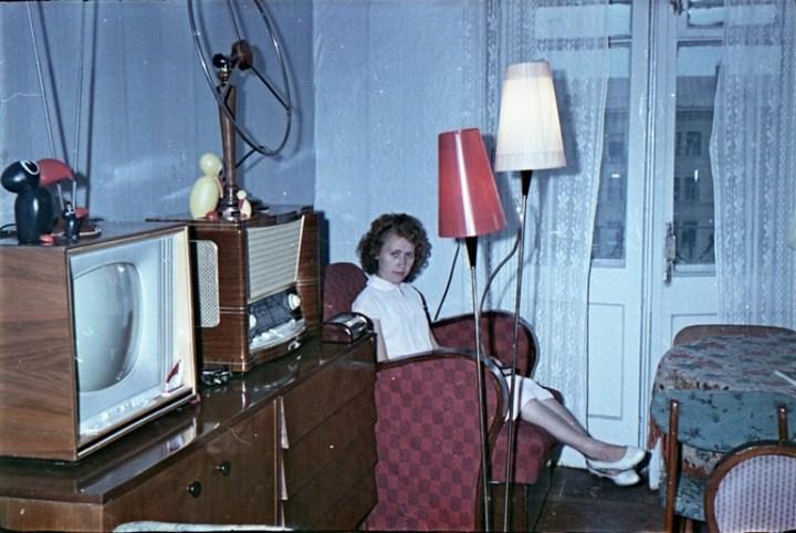 Старая фотосессия в советской коммуналке (2)