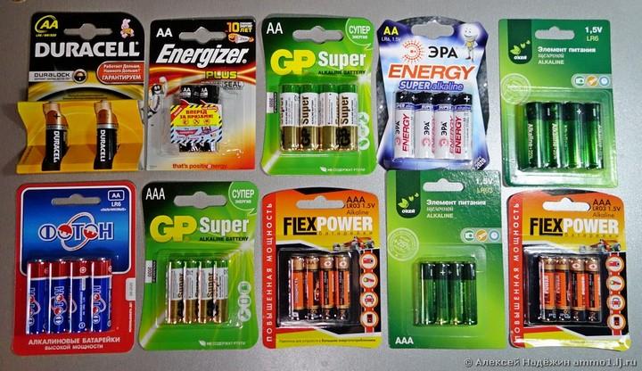 Тест батареек, какие выбрать? (5)