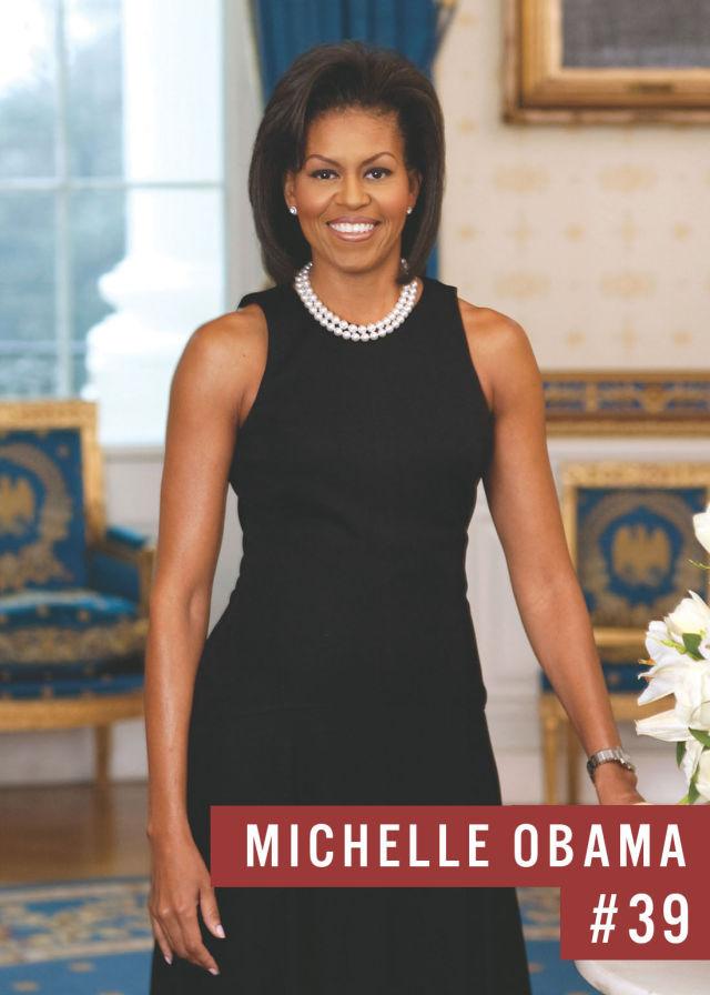 Самые популярные девушки интернета. Рейтинг ТОП - 50 Michelle Obama (Мишель Обама) (12)