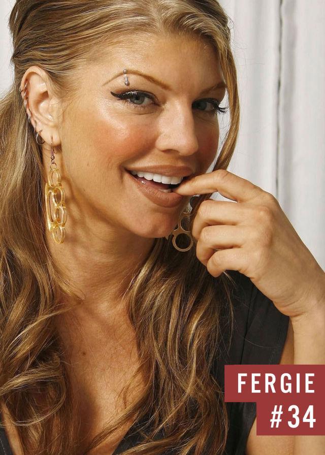 Самые популярные девушки интернета. Рейтинг ТОП - 50 Fergie (Ферги) (17)