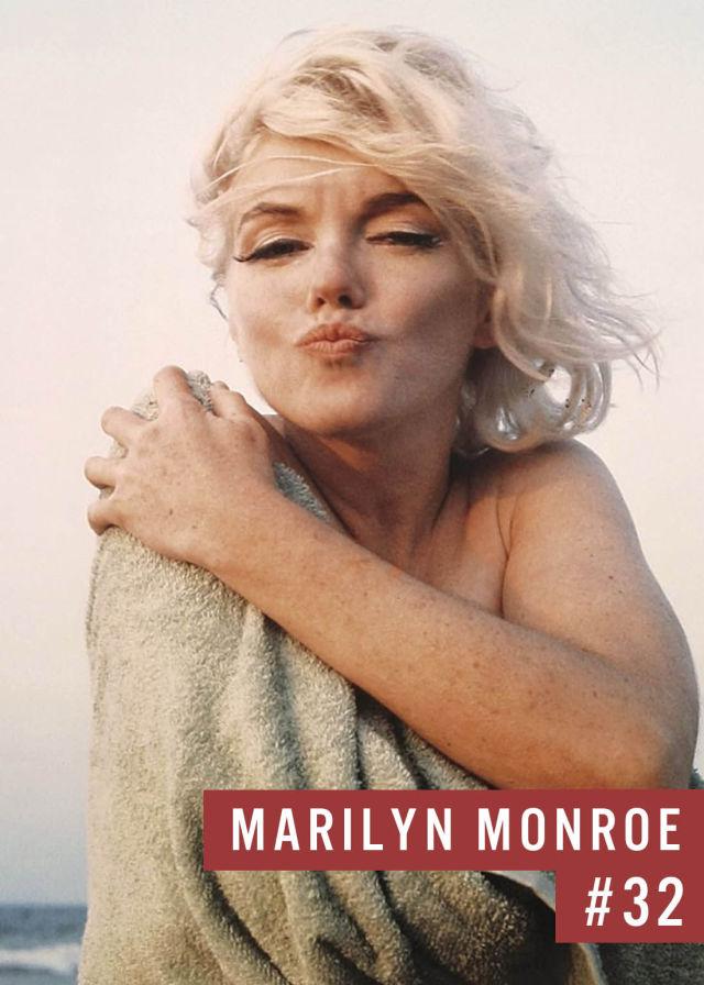 Самые популярные девушки интернета. Рейтинг ТОП - 50 Marilyn Monroe (Мэрилин Монро) (19)