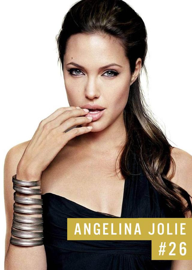 Самые популярные девушки интернета. Рейтинг ТОП - 50 Angelina Jolie (Анджелина Джоли) (25)