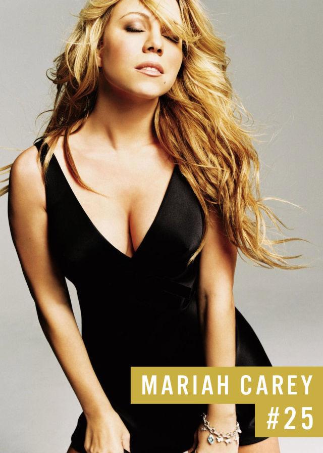 Самые популярные девушки интернета. Рейтинг ТОП - 50 Mariah Carey (Мэрайя Кэри) (26)