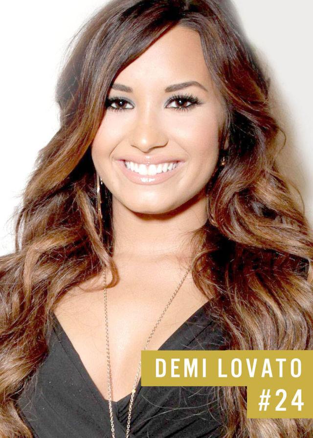 Самые популярные девушки интернета. Рейтинг ТОП - 50 Demi Lovato (Деми Ловато) (27)