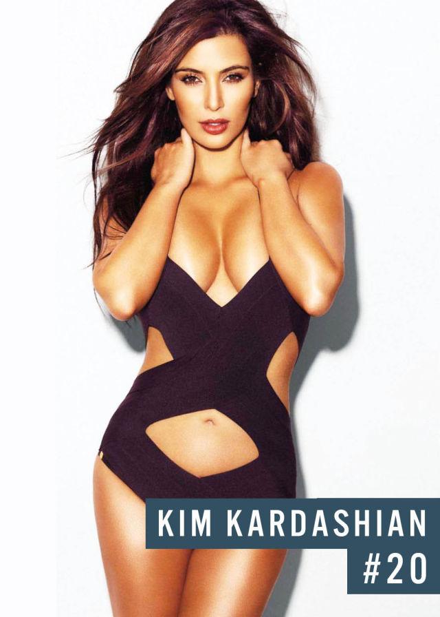 Самые популярные девушки интернета. Рейтинг ТОП - 50 Kim Kardashian (Ким Кардашян) (31)