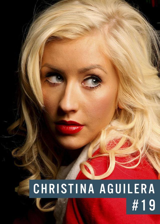 Самые популярные девушки интернета. Рейтинг ТОП - 50 Christina Aguilera (Кристина Агилера) (32)