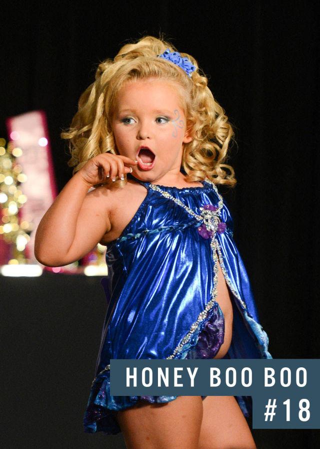 Самые популярные девушки интернета. Рейтинг ТОП - 50 Honey Boo Boo Child (33)