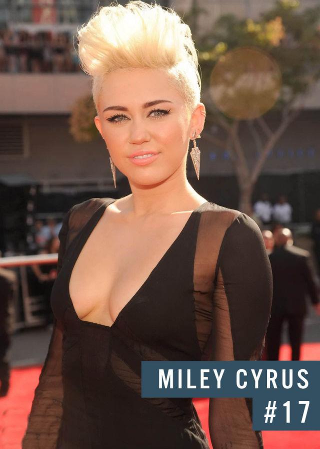 Самые популярные девушки интернета. Рейтинг ТОП - 50 Miley Cyrus (Майли Сайрус) (34)