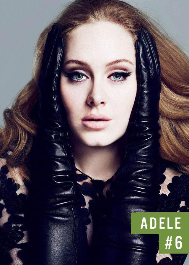 Самые популярные девушки интернета. Рейтинг ТОП - 50 Adele (Адель) (45)