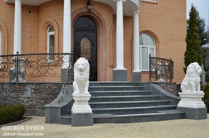Дом сбежавшего генпрокурора Украины Пшонки (2)