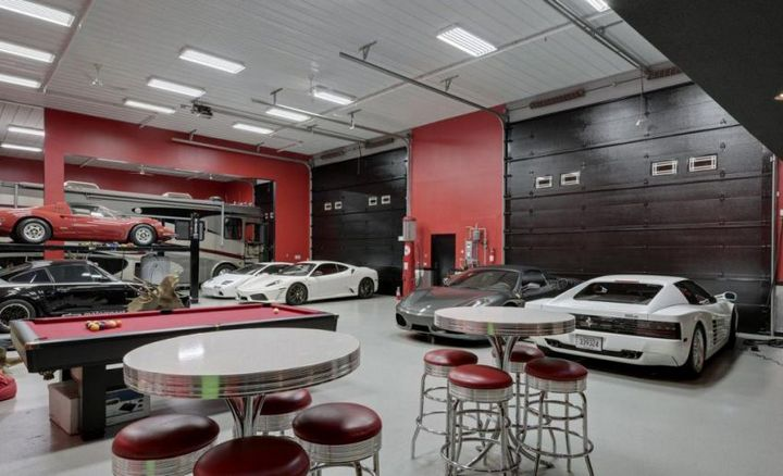 Такой гараж мечта любого мужчины, Крутой интерьер гаража (5)