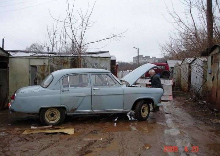 Процесс восстановления Волги ГАЗ - 21 (6)