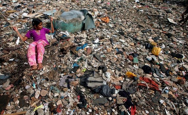 Мумбаи – город мусора (4)