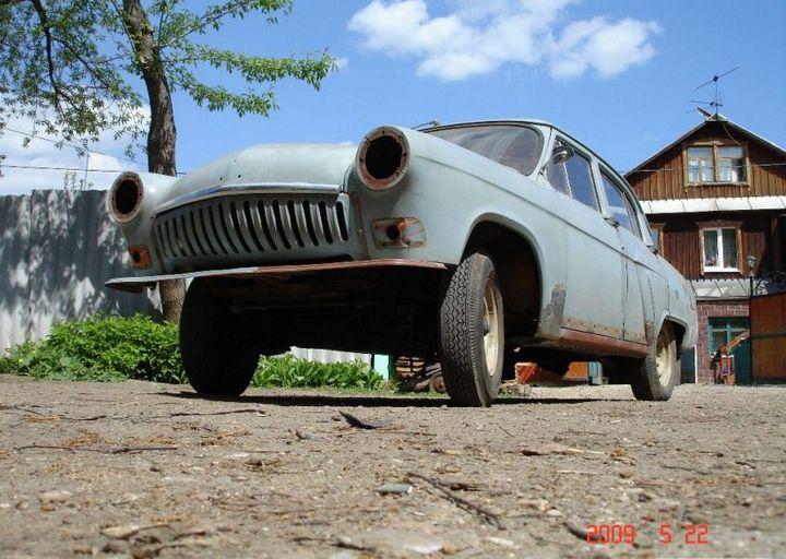 Процесс восстановления Волги ГАЗ - 21 (9)