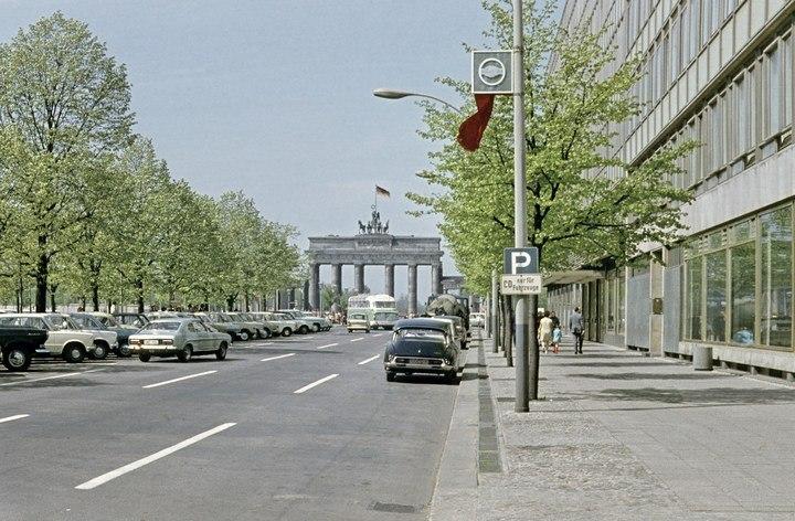 Берлин 1973-1986 годов, старые фотографии (26)