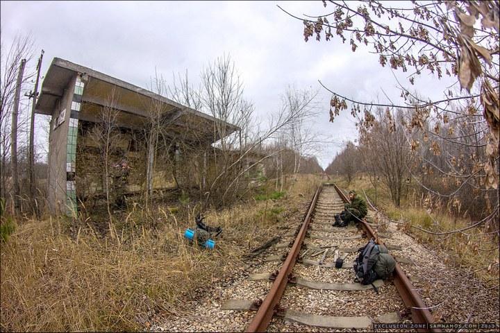 Нелегальный поход в Припять, как своими силами добраться до Припяти (54)