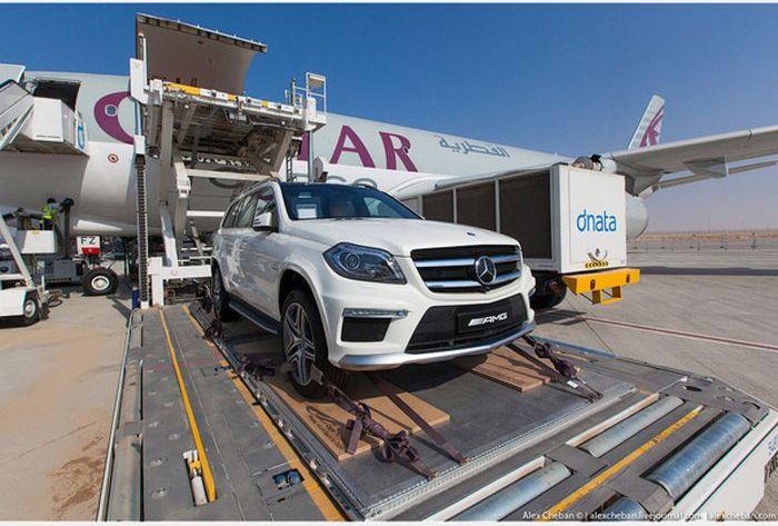 Доставка роскошных автомобилей арабских шейхов (15)