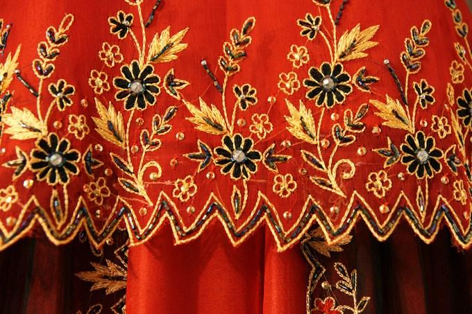 Волшебная красота тканей из Бенареса (2)