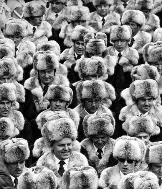 Сборная СССР на открытии XI зимних Олимпийских игр, Саппоро, Япония. 3 февраля 1972 года