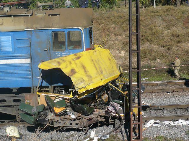аварии на железнодорожных переездах (2)