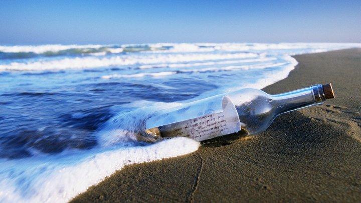 Немецкий рыбак нашел письмо в бутылке 100-летней давности