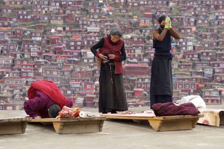 Тибетский монастырь Седа — гигантский муравейник! (7)