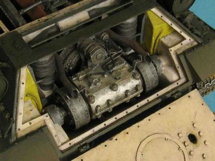Реалистичная модель танка T-34/76 (6)