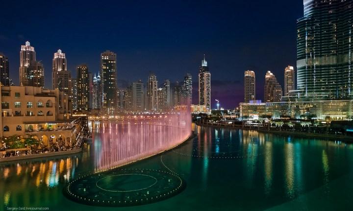 Поющие фонтаны в Дубаи (5)
