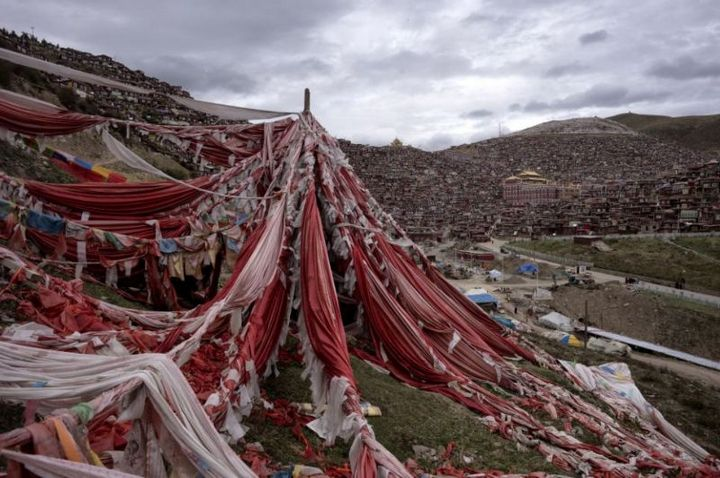 Тибетский монастырь Седа — гигантский муравейник! (4)