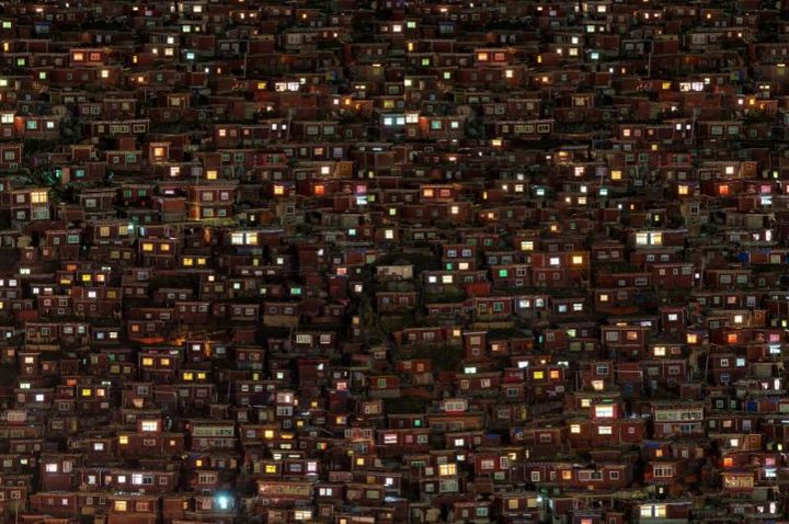 Тибетский монастырь Седа — гигантский муравейник! (9)