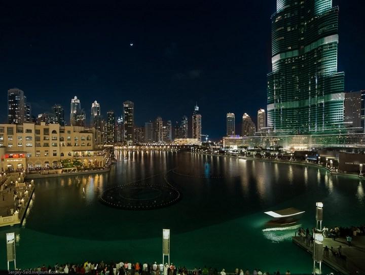 Поющие фонтаны в Дубаи (9)