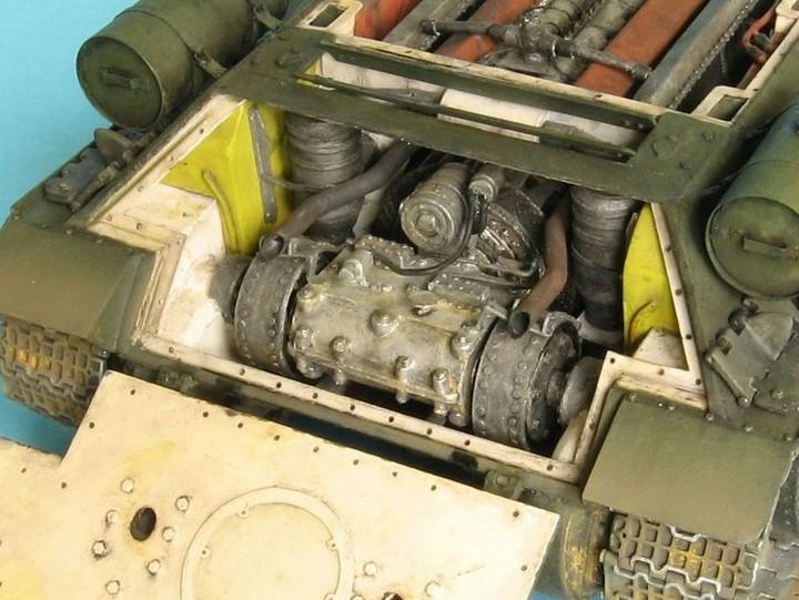Реалистичная модель танка T-34/76 (3)