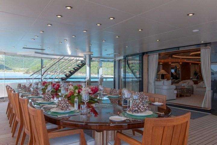 Шикарная яхта за 1.300.000$ в неделю (8)