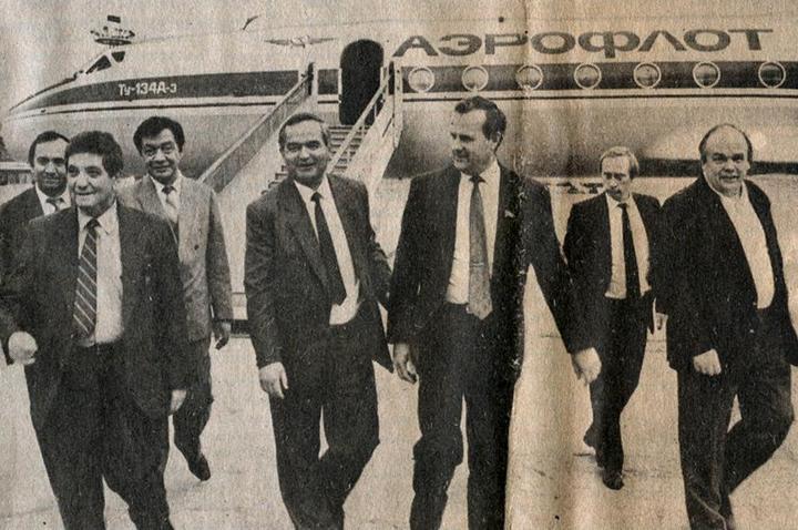 Фото Путина в начале карьеры, Путин и Собчак (3)