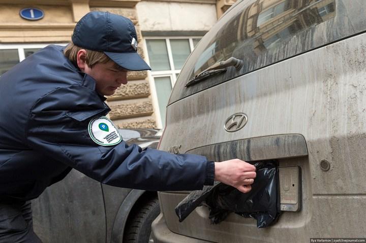 Московская парковочная инспекция в деле (1)