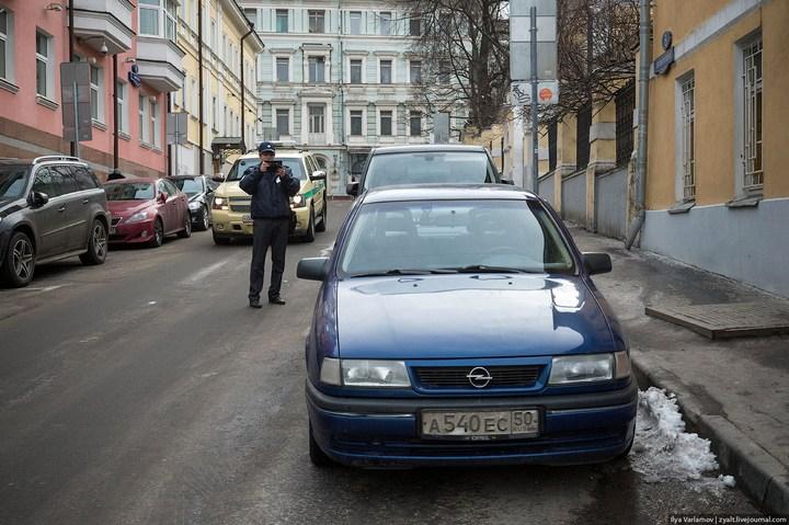 Московская парковочная инспекция в деле (4)