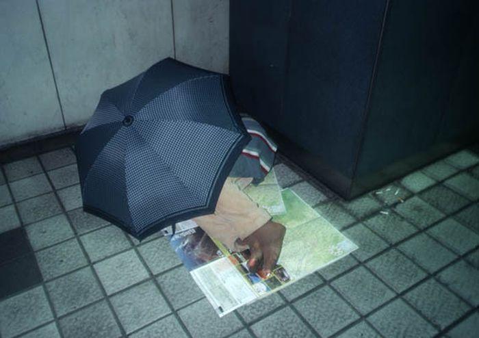 Коробочные люди на станции Синдзюку (2)