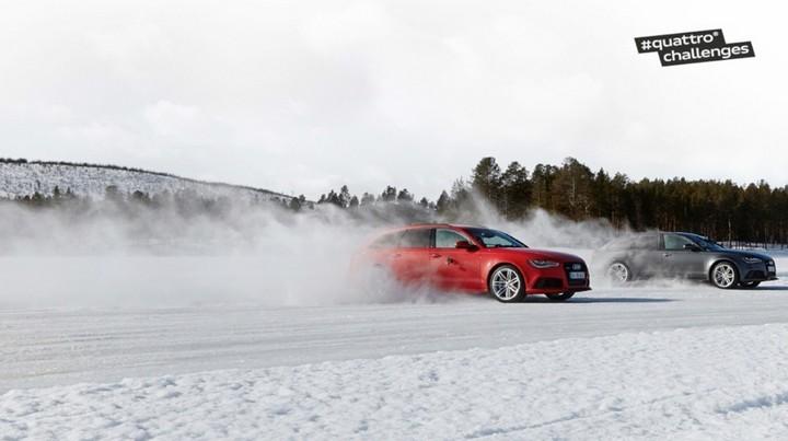 "Спонсируемое видео. ""Ледовое побоище"" Audi RS 6 Avant quattro (4)"