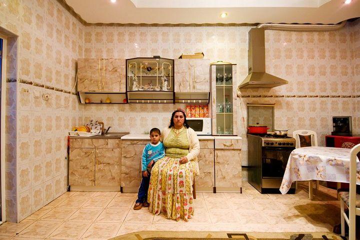 Как живут цыгане или интерьеры цыганских домов (11)