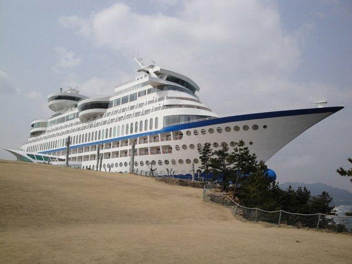 Корабль-отель Sun Cruise в Южной Корее (6)