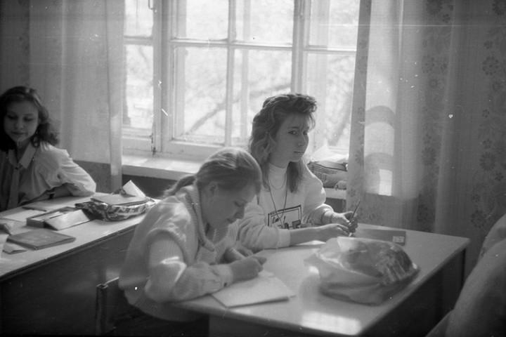 Ностальгия. Школа № 205, 1991 год (7)