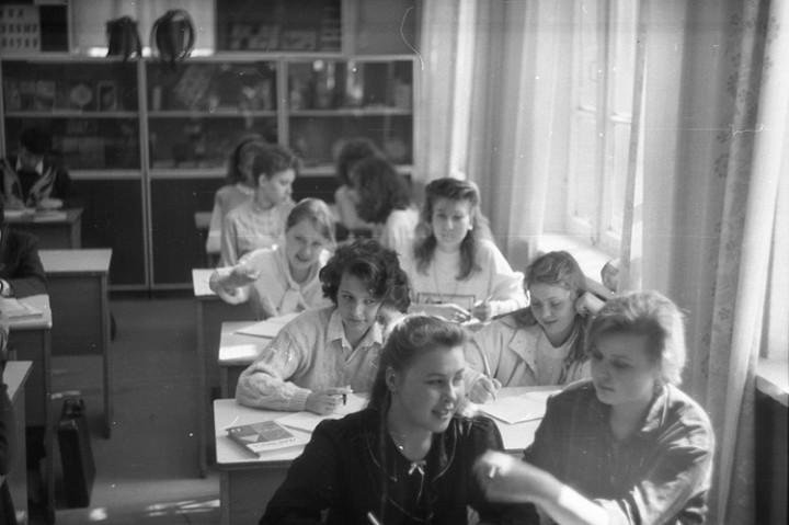 Ностальгия. Школа № 205, 1991 год (10)