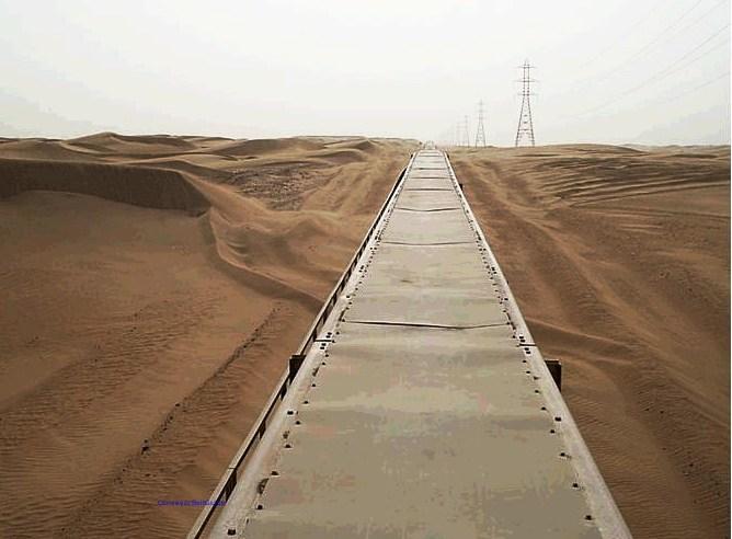 Самый длинный ленточный конвейер в мире (5)