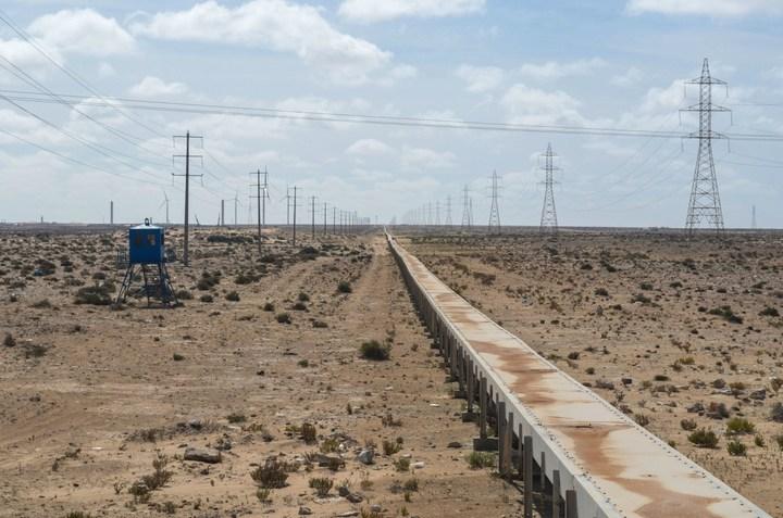 Самый длинный ленточный конвейер в мире (1)