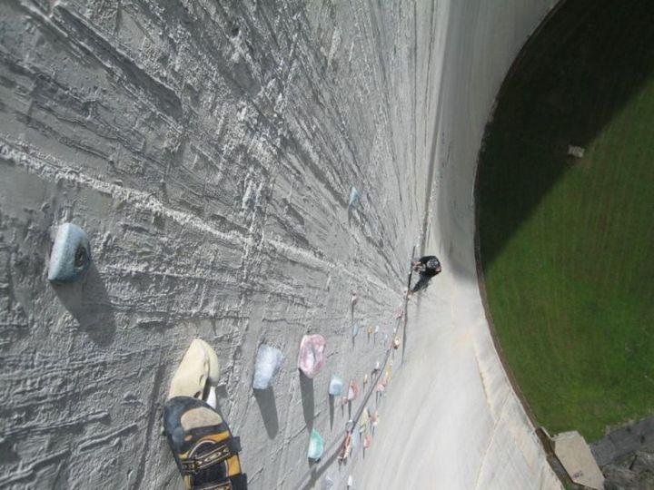 Самый большой в мире скалодром (1)