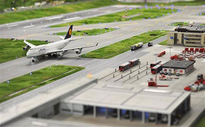 Самая большая модель аэропорта в мире (2)