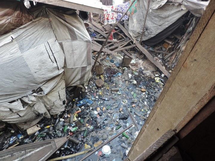 Плавучие трущобы Макоко, Нигерия (14)