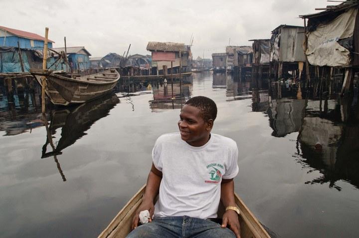 Плавучие трущобы Макоко, Нигерия (21)