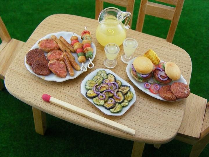 Миниатюрные копии еды Шайя Аарона (1)