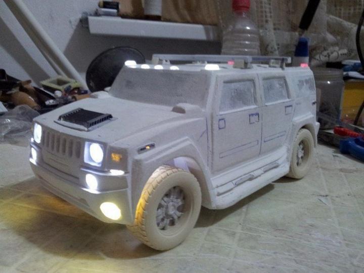 Модели Hummer своими руками (3)